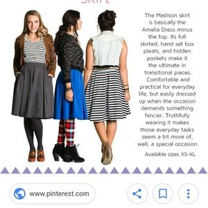 LuLaRoe Skirts - NWT LuLaRoe Madison Skirt
